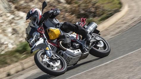 """Test Moto Guzzi V85 TT: artigli """"tuttoterreno"""""""