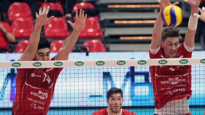 Volley: A2 Maschile, Girone Blu: Piacenza passa anche a Pordenone