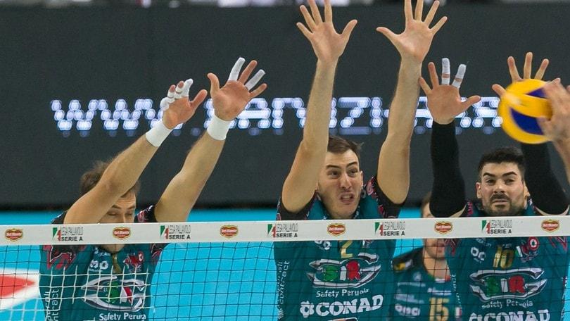 Volley: Champions League, Perugia e Civitanova affrontano il ritorno dei Quarti