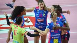 Volley: Champions Femminile, le tre italiane cercano il pass per le semifinali
