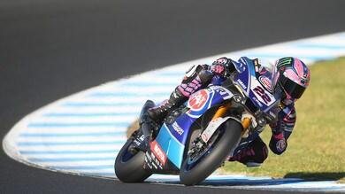 Sbk Yamaha, Lowes: «Ho preferito non rischiare»