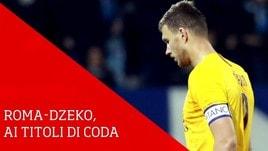 Roma-Dzeko, ai titoli di coda