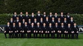 Coverciano: l'Italia veste Armani
