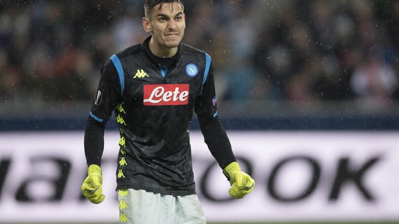 Meret: «Napoli, l'Europa League è l'obiettivo stagionale»