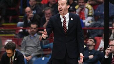 Eurolega, Pianigiani carica l'Olimpia Milano: «Un privilegio giocare per i playoff»