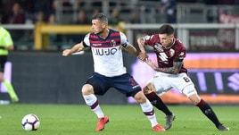 Serie A Bologna, Dzemaili: gli esami escludono lesioni
