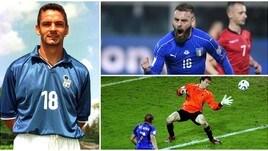 Italia: i 20 cannonieri di sempre, c'è anche De Rossi