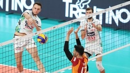 Volley: Cev Cup, Finale d'andata: Trento asfalta il Galatasaray