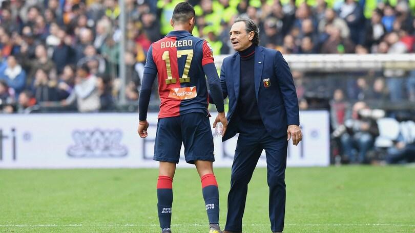 Genoa, Prandelli entusiasta di Romero: