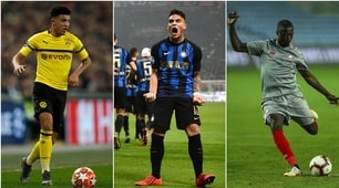 Da sconosciuti a crack del calcio: uno è della Roma