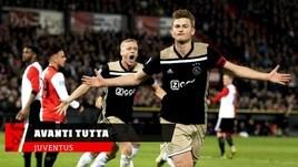 Juventus, avanti tutta su De Ligt