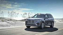 Nuova BMW X7: primo test negli USA
