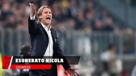Udinese, esonerato a sorpresa Nicola