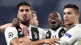 Juventus, Ronaldo in parte con i compagni. Emre Can da valutare