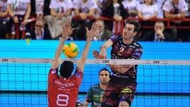 Volley: Champions League, Perugia chiude il conti con lo Chaumont