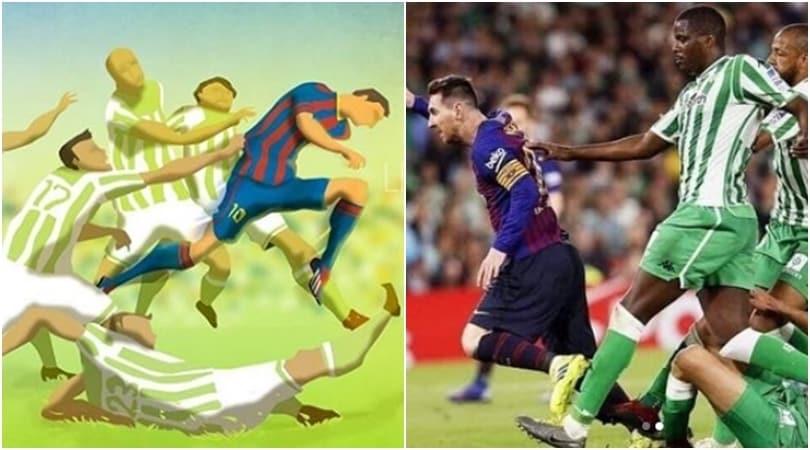 Messi può tutto: dà vita ad un quadro di sei anni prima