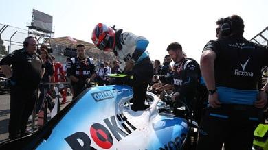F1 Williams, Kubica: «Non ho nessun rimpianto»