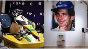 Formula 1: ospiti, emozioni e cimeli alla mostra dedicata a Senna