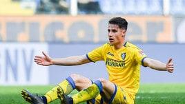 Serie A Frosinone, per Pinamonti soltanto terapie