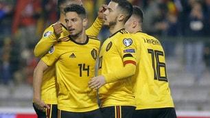 Più Castagne che Mertens, decide Hazard: il Belgio batte la Russia