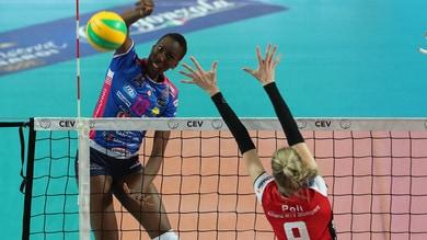 Volley: Champions Femminile, Novara archivia nei primi due set la pratica Stoccarda