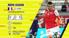 Oudin, magie per il Reims