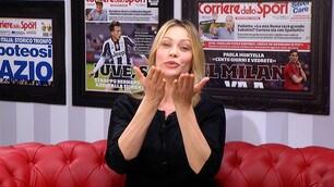 Anna Falchi: «La Lazio? Un amore immenso»