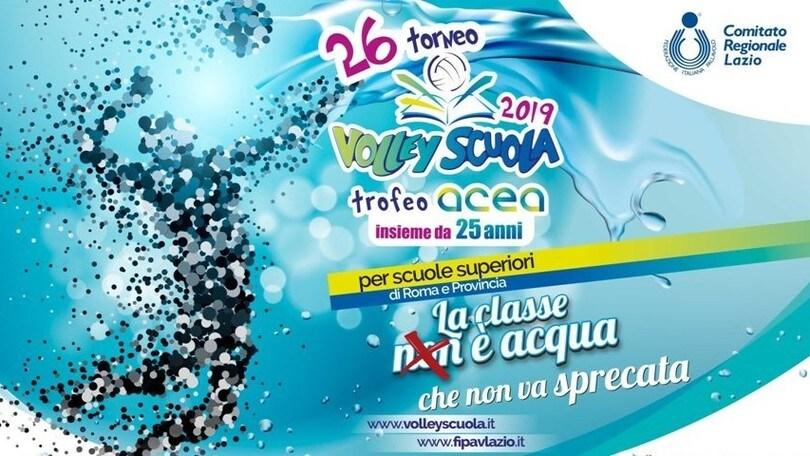 Volley: Il Volley Scuola per la Giornata Mondiale dell'Acqua al liceo Tasso