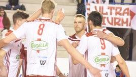 Volley: A2 Maschile, penultima giornata, si gioca per Play Off e retrocessione