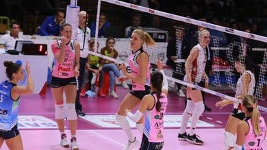 Volley: A1 Femminile, Bergamo-Scandicci e Busto-Casalmaggiore i due anticipi