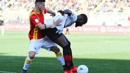 Serie B Foggia, Billong: «Siamo forti, dobbiamo assolutamente salvarci»