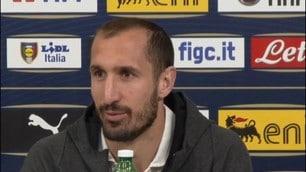 """Chiellini su Mancini: """"Ci ha dato serenità, fiducia ed entusiasmo"""""""