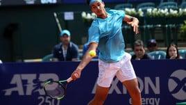 Tennis, Miami: Sonego lotta ma vince Isner
