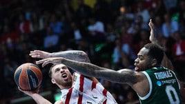 Eurolega, Milano crolla contro il Panathinaikos: 83-95