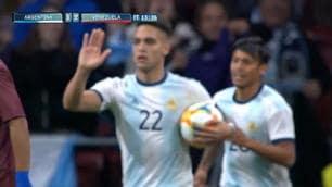 Lautaro-gol non evita il flop dell'Argentina