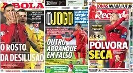 Portogallo, non basta Cristiano Ronaldo: la delusione sui giornali
