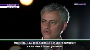 "Mourinho: ""Io c.t.? Non credo..."""