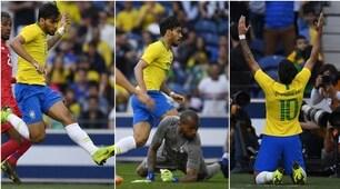 Paquetáshow: in gol col Brasile con la 10 sulle spalle