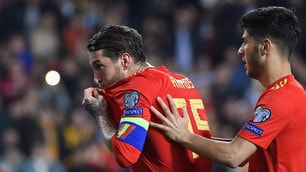 Spagna: sorride Luis Enrique. Ramos regala i tre punti alle Furie Rosse
