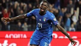 Italia, Kean nella storia. Primo millennial a segno in nazionale