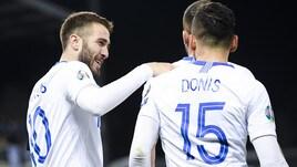 Alla Grecia basta un gol per tempo per regolare il Liechtenstein