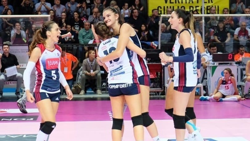 Volley: A1 Femminile, per Bergamo tre punti di speranza contro Scandicci