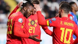 Hazard-Batshuayi, il Belgio liquida Cipro in dieci minuti
