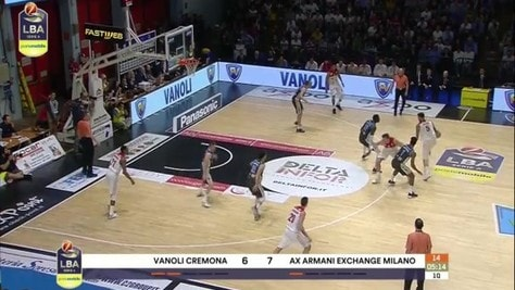 Vanoli Cremona-AX Armani Exchange Milano 76-72