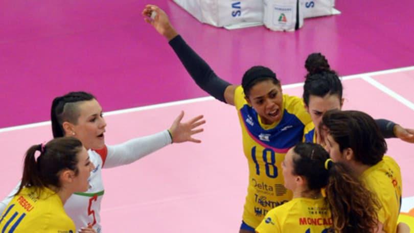 Volley: A2 Femminile, Perugia cade a Caserta, Trento si avvicina