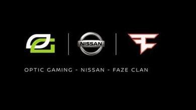 Nissan nel mondo degli eSports: firmata partnership con Faze Clan e Optic Gaming