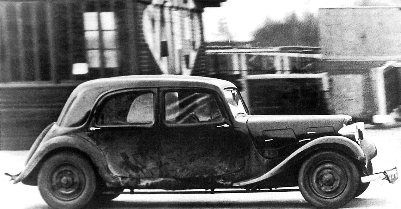 Citroen Traction Avant, design italiano scelto dalla moglie di André Citroen