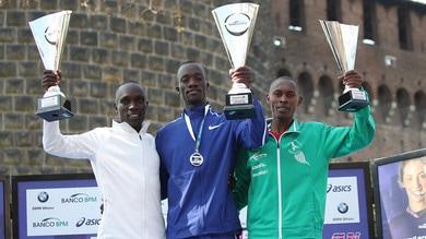 Strapoterere keniota alla 44^ Edizione della Stramilano Half Marathon
