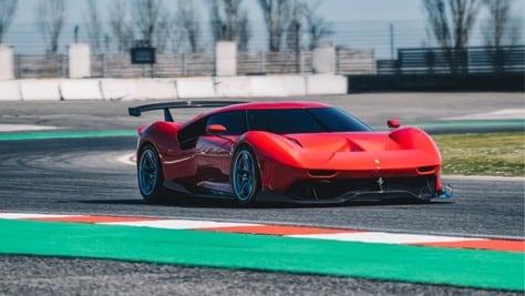Ferrari P80/C, l'esemplare unico che cambia abito