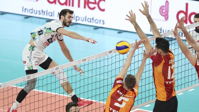 Volley: Cev Cup, Trento nella tana del Galatasaray per il ritorno della Finale